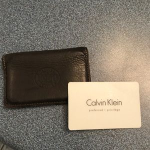 🇨🇦 Roots leather cardholder